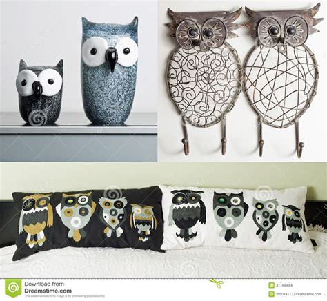 Interior Elements by Owl Themed Interior Elements Stock Images Image 31168894