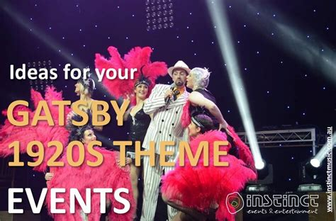 great gatsby themes about the past gatsby 1920s event theme ideas