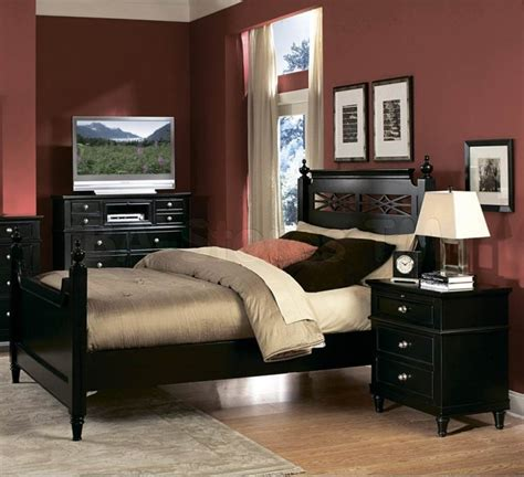 Bedroom Furniture Ta | modern bedroom ideas with black furniture room image and