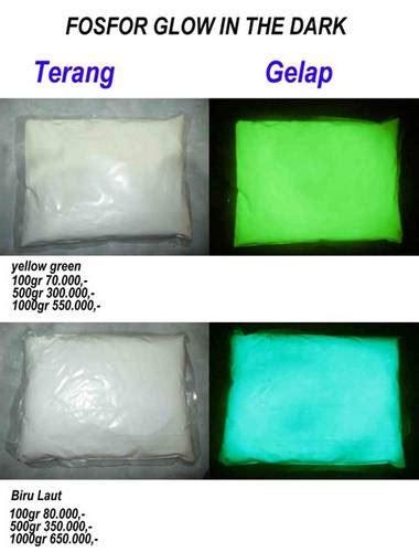 Bubuk Fosfor Glow In The 250gr dinomarket 174 pasardino bubuk fosfor glow in the