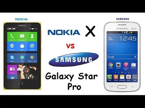 Hp Nokia Vs Samsung nokia x vs samsung galaxy pro specs comparison