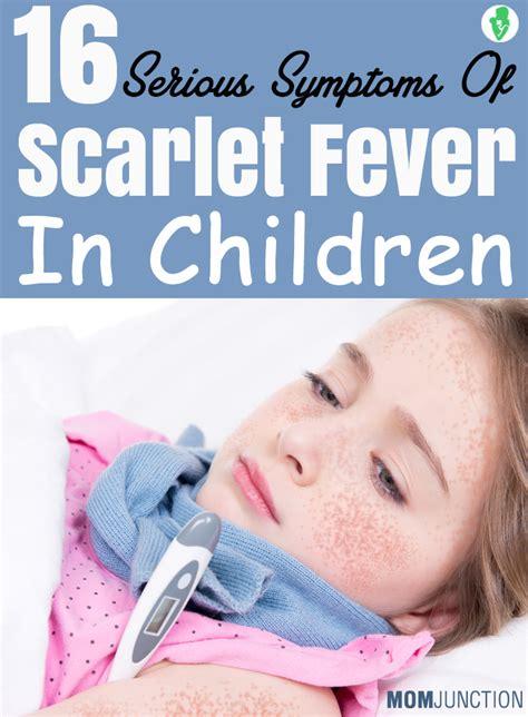 fever symptoms scarlet fever in children pictures photos
