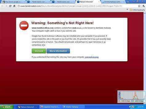 malware   How can I suppress Google Chrome's virus warning