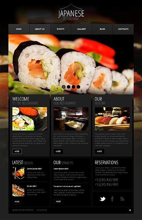 wordpress templates for restaurant website 17 best images about restaurant website on pinterest