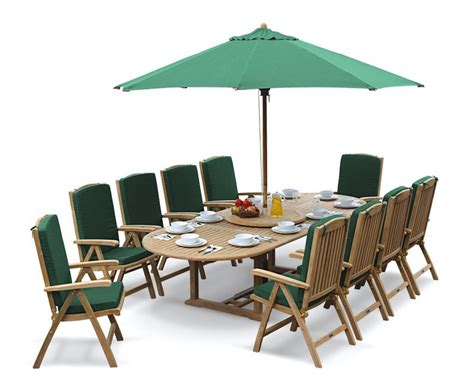 10 Seater Dining Table And Chairs Cheltenham 10 Seater Extendable Dining Table And Recliner Chairs Set