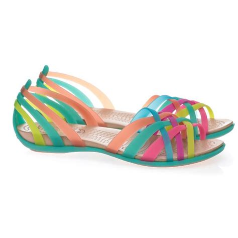 where can you buy rainbow sandals buy crocs multi color flat sandal for sandals