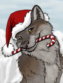 christmas wolf christmas photo 25094920 fanpop