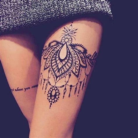 tattoo mandala cuisse tatouage de femme des id 233 es pour trouver le tatouage