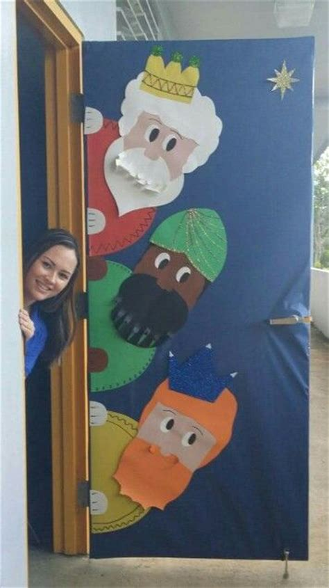 decoracion de puertas navideñas paso a paso adornos de navidad para las puertas barbara ideas para