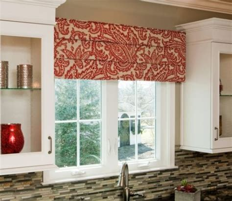 Fabric Covered Cornice Dress Up Kitchen Windows With A Cornice Board Tired Of