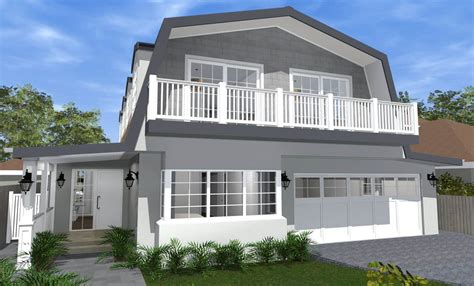 gambrel style house architect design 3d concept gambrel house balgowlah