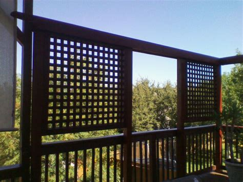 Deck Screen Wall - deck privacy wall privacy screens privacy walls decks