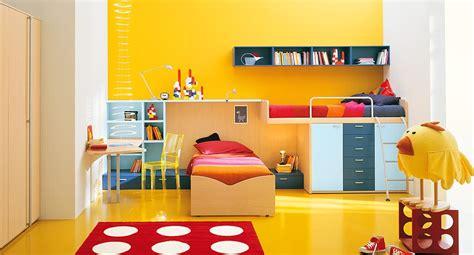 yellow kids bedroom interior exterior plan polka dots yellow kids room design