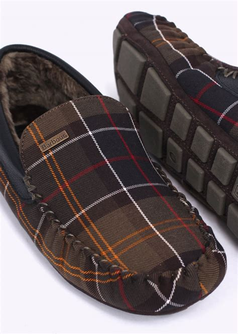 Tartan Slippers barbour monty slippers classic tartan barbour from