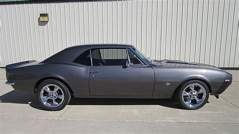 gray camaro with black stripes 1967 chevrolet camaro ss professionally restored gray with