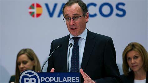 etã vasco el pp vasco advierte a eta que no habr 225 quot impunidad ni