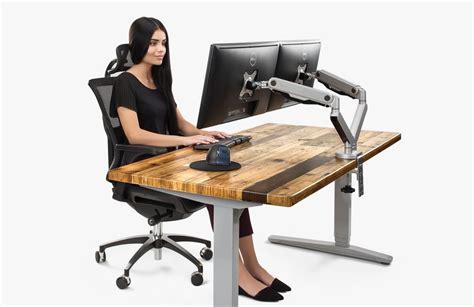 ergonomic sitting at desk ergonomic calculator uplift desk