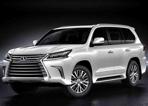lexus 2017 lx 570 2018 lexus lx 570 redesign release date and price all