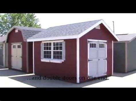 Ez Fit Sheds Reviews by Amish Made Ez Fit Homestead Shed Kit