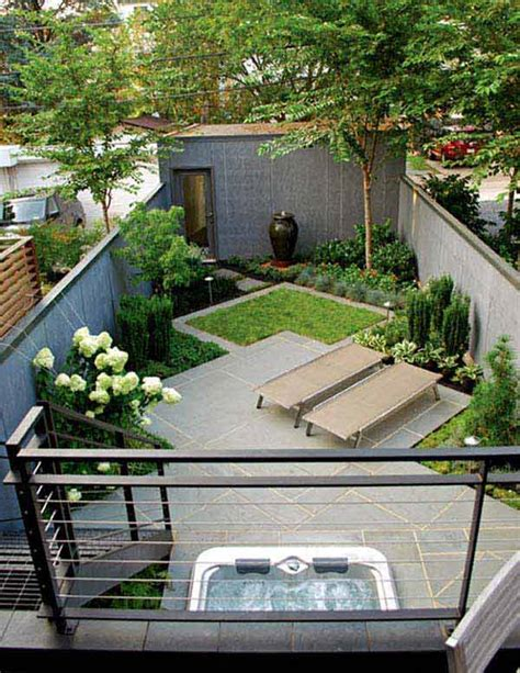 23 Small Backyard Ideas How To Make Them Look Spacious And Small Narrow Backyard Ideas