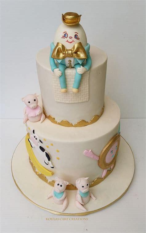 nursery rhyme baby shower decorations nursery rhyme baby shower cake by koulas cake creations