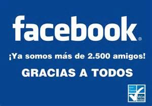 Ya somos m 225 s de 2 500 amigos en facebook