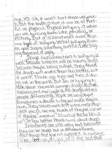 Exles Of This I Believe Essays by Essays Essay About Bullying