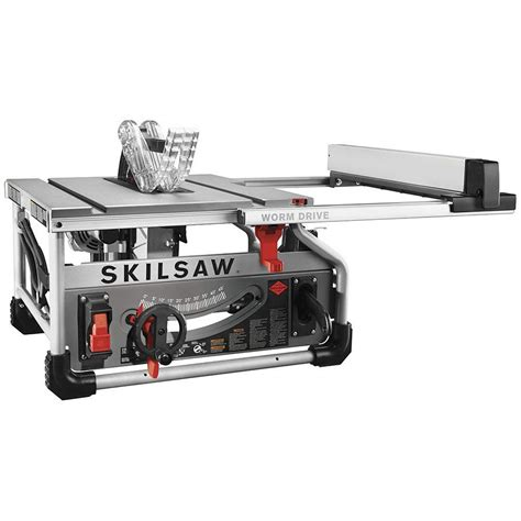 skilsaw 10 inch table saw skilsaw spt70wt 01 10 quot portable worm drive table saw with
