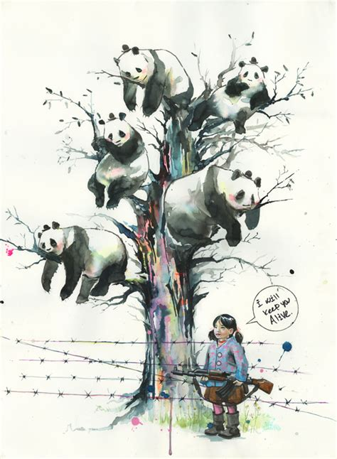 panda tree by lora zombie on deviantart