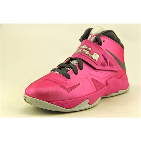 nike soldier 7 gs youth boys size 6 pink basketball