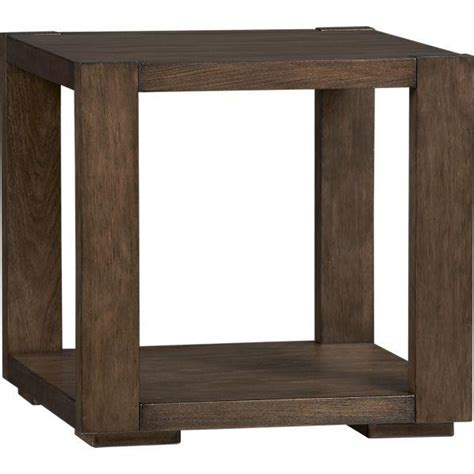 Crate And Barrel Side Table Lodge Side Table Crate And Barrel