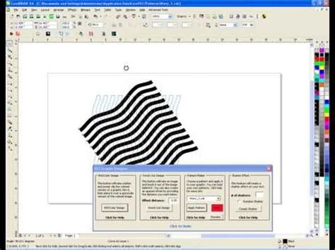 coreldraw pattern maker synergy 17 making patterns with coreldraw youtube