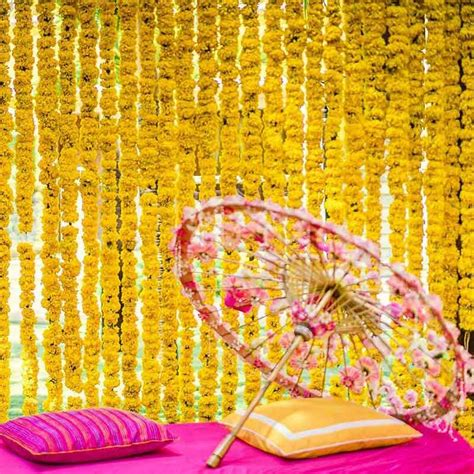 #Trending: 20 Most Vibrant Haldi Decor Ideas For Your Wedding.