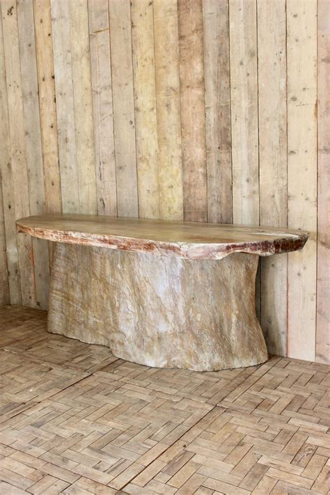 tree trunk console table outstanding and large tree trunk console table bar