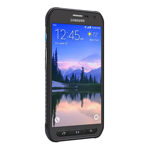 rugged at t cell phones samsung galaxy s6 active g890a 32gb gray 4g lte rugged android phone att wireless mint