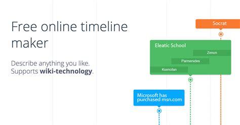 Free Online Timeline Maker Timeline Generator Printable