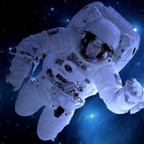 wallpaper astronaut deep space stars blue nasa