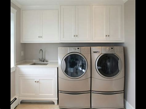 White Laundry Room Cabinets Paint My Laundry Room Cabinets White Laundry Room Pinterest