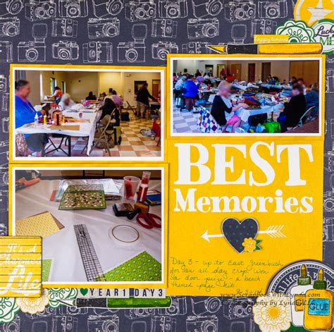A Scrapbook Layout Of You The Mad Cropper by Scrapbook A Crop Scrapbook With Lynda