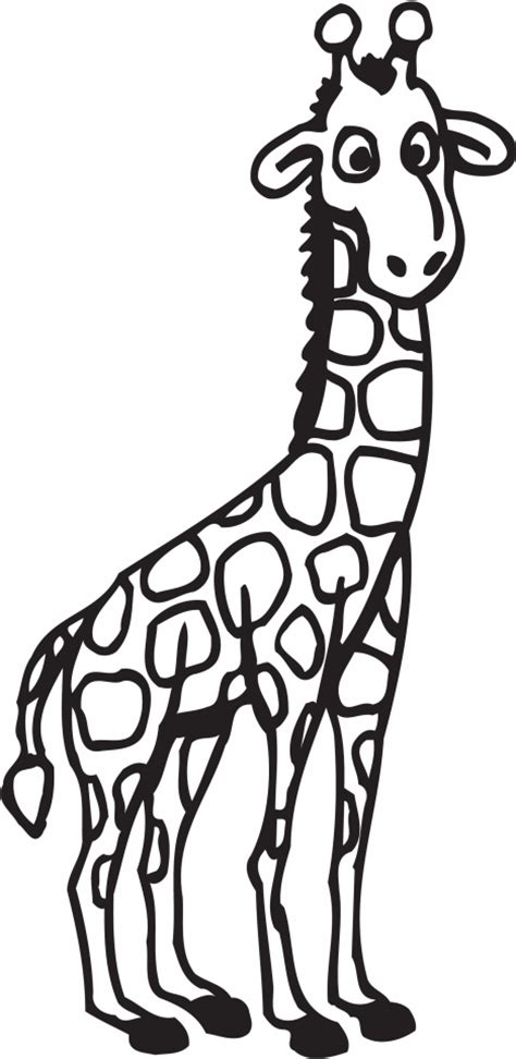 coloring pages of cartoon giraffes giraffe coloring pages clipart panda free clipart images