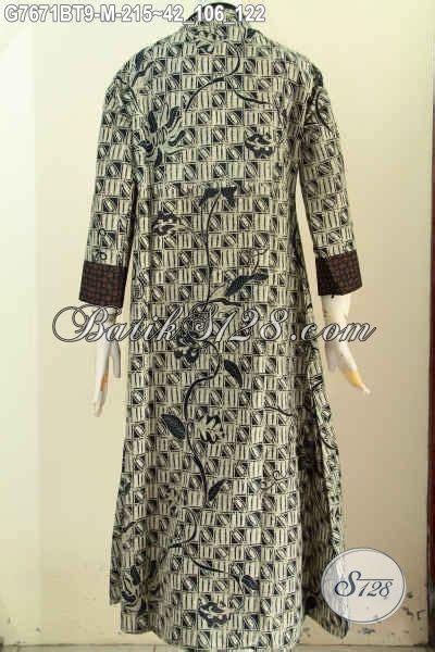 jual  abaya batik elegan  mewah gamis batik