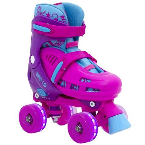 Sfr Lightning Hurricane Light Up Roller Skates Pink