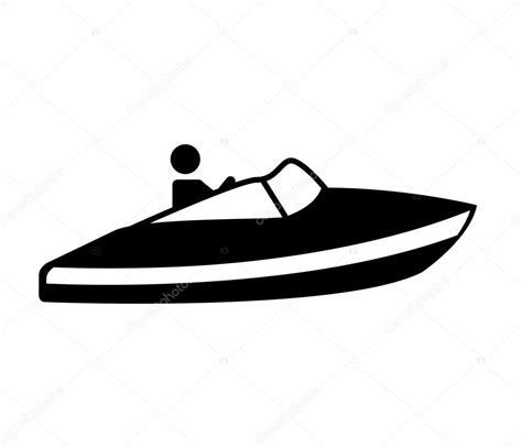 boat front icon schnellboot silhouette symbol stockvektor 169 yupiramos