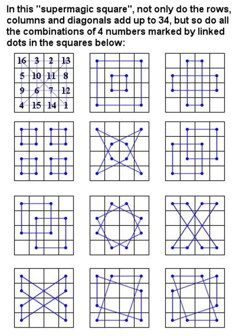 pattern magic square 17 best images about magic squares on pinterest the two