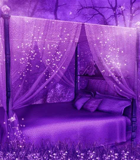 purple bed 19 beautiful canopy beds that will create a majestic