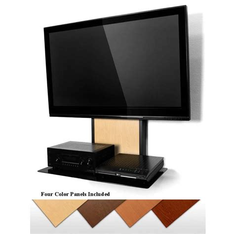 Tv Component Shelf by Atlantic Unity Large Flat Panel Tv Mount System With