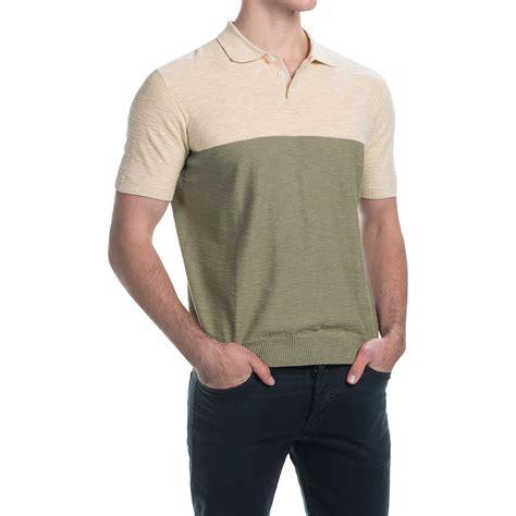 color block polo shirt c 89men color block polo shirt for save 61