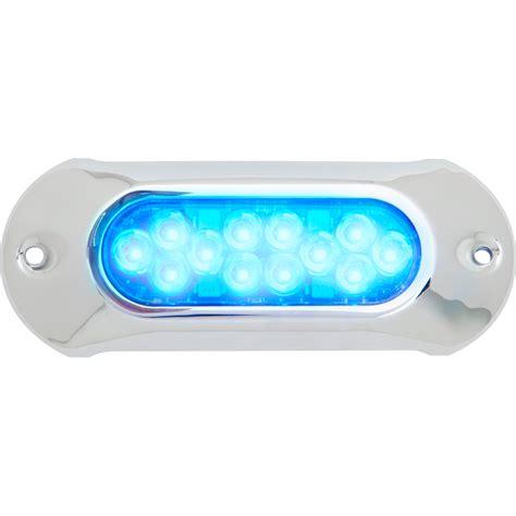 attwood boat lights attwood light armor underwater led light 12 leds blue