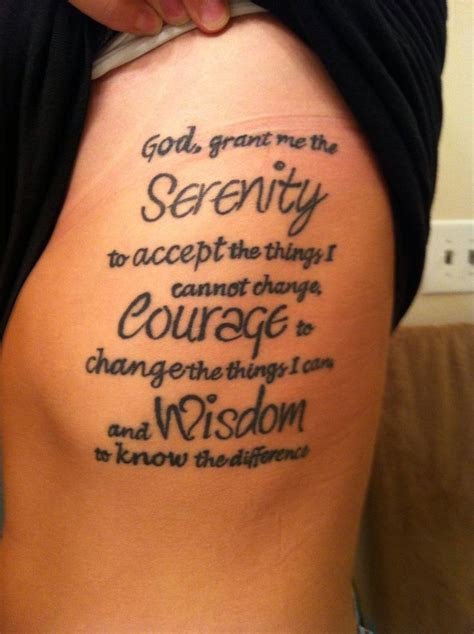 tattoo lettering prayers 89 best images about serenity prayer on pinterest ribs