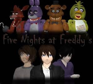 Five nights at freddy s song by lizasakura